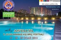 6. Antalya Uluslararası Kış Briç Festivali