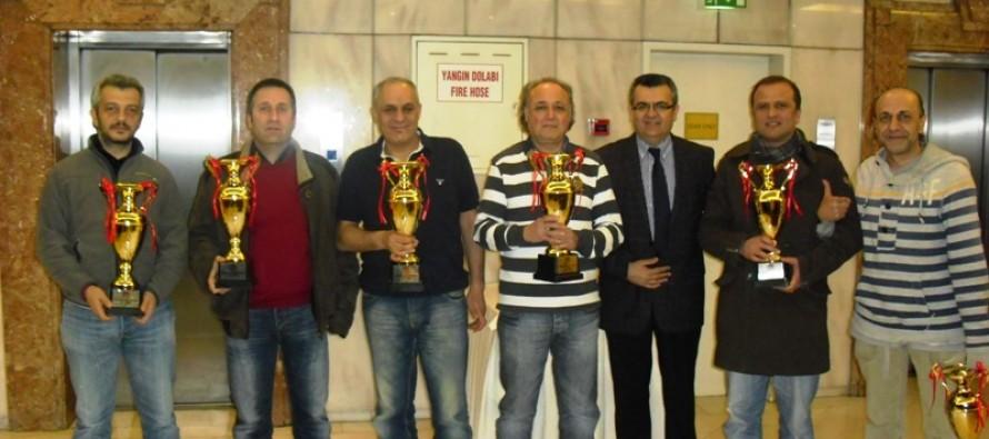 2012 Türkiye Kış Açık Takımlar Şampiyonası Sonuçlandı