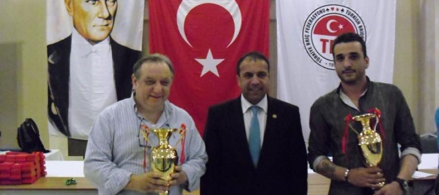 2012 Mehmet Kortay İstanbul Açık İkili Şampiyonası Sonuçlandı