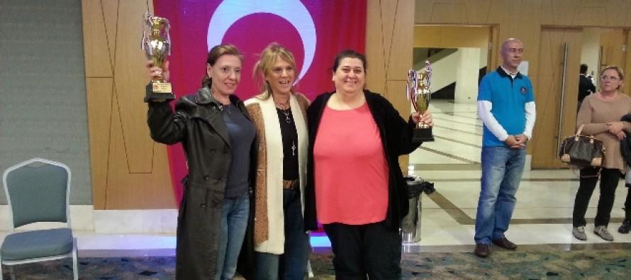 2012 Türkiye Kadın İkili Şampiyonası Sonuçlandı