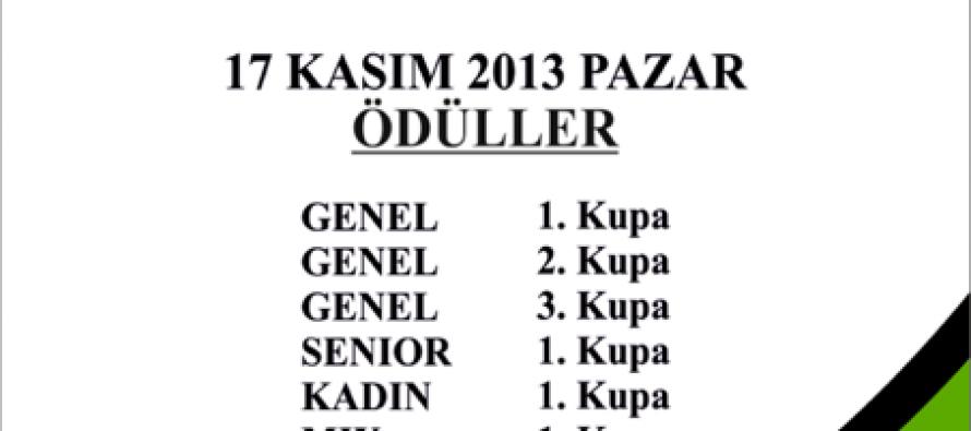 9. General Zafer Özkan Kocaeli Açık İkili Briç Turnuvası