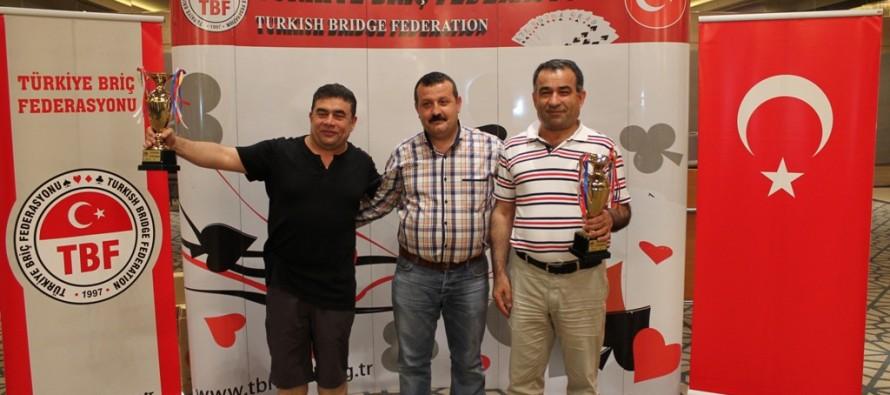 2014 Batı Karadeniz Açık İkili Şampiyonası Sonuçlandı