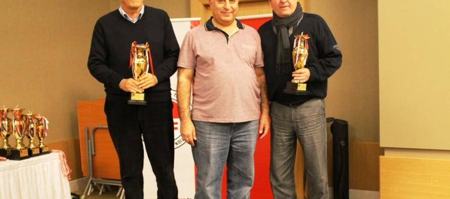 2014 Türkiye Senyör İkili Şampiyonası Sonuçlandı