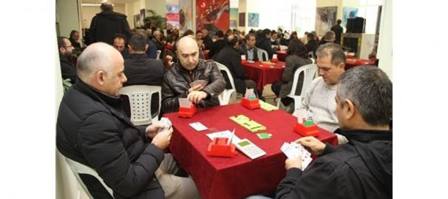 5. Kartal Belediyesi Atatürk'ü Anma Briç Turnuvası Sonuçlandı