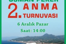 Osman Peker'i Anma Turnuvası