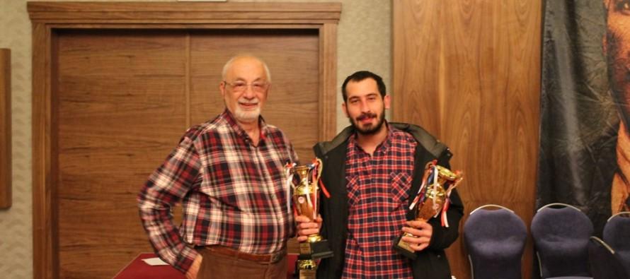 2015 Türkiye Senyör İkili Şampiyonası Sonuçlandı