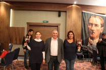 2015 Türkiye Kadın İkili Şampiyonası Sonuçlandı