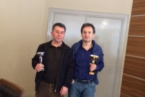 3. Ridos Açık İkili Briç Turnuvası Sonuçlandı