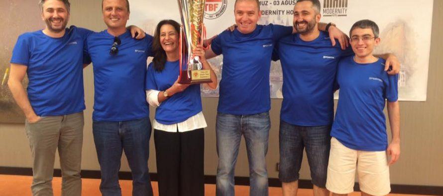 2017 Türkiye Kulüpler Şampiyonası Sonuçlandı