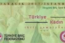 Türkiye Kadınlar İkili Briç